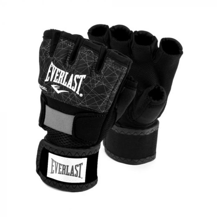 BĂNG TAY XỎ EVERLAST PRINTED EVERGEL BOXING HAND WRAPS - BLACK