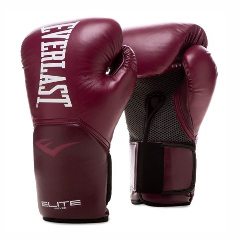 Găng Tay Everlast Elite Prostyle Training Gloves - Wine