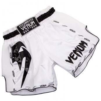 QUẦN VENUM GIANT MUAY THAI SHORTS - WHITE