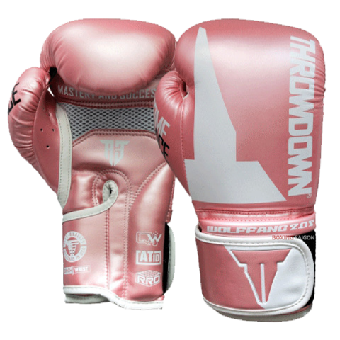 GĂNG TAY THROWDOWN WOLF FANG 2.0S BOXING GLOVES - PINK