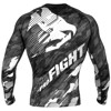 ÁO BÓ VENUM TECMO RASHGUARD - LONG SLEEVES - DARK GREY