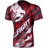 ÁO BÓ VENUM TECMO RASHGUARD - SHORT SLEEVES - RED