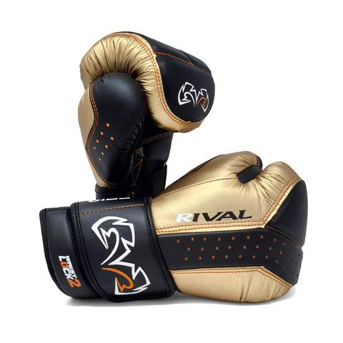Găng Tay Rival RB10 Intelli-Shock Bag Gloves - Black/Gold