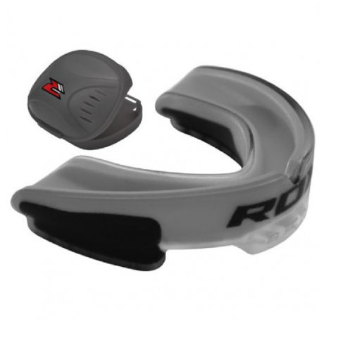 BẢO HỘ RĂNG RDX GEL GUM SHIELD MOUTH GUARD - GREY