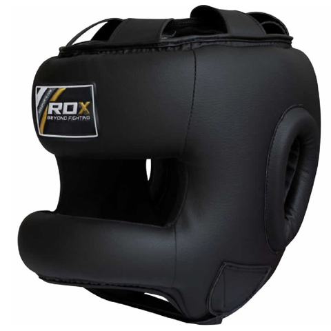 BẢO HỘ ĐẦU RDX ZERO IMPACT LEATHER BAR HEAD GUARD