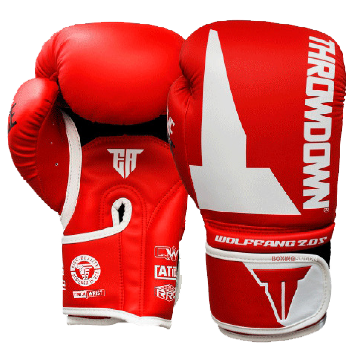 Găng Tay Throwdown Wolf Fang 2.0S Boxing Gloves - Red