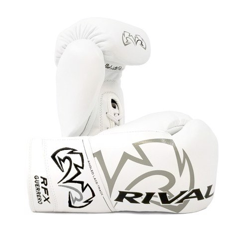 Găng Tay Rival Rfx-Guerrero Pro Fight Gloves Hde-F - White