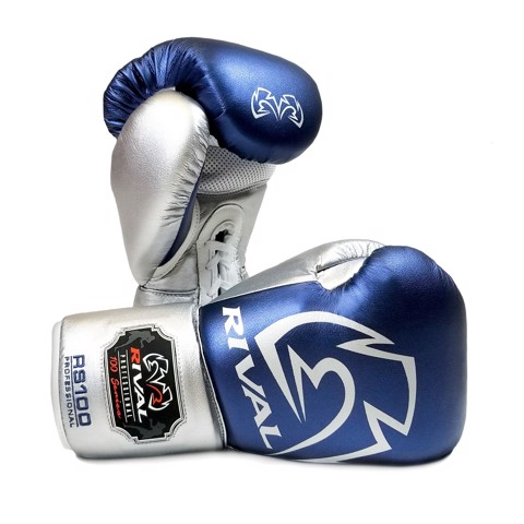 Găng Tay Rival Rs100 Professional Sparring Gloves - Blue/Silver