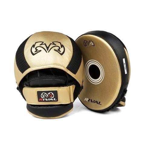 Đích Đấm Rival Rpm11 Evolution Punch Mitts - Black/Gold