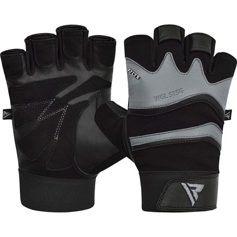 GĂNG TAY RDX S15 LEATHER GYM FITNESS GLOVES
