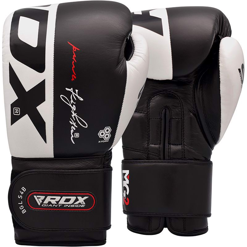 GĂNG TAY RDX S4 LEATHER SPARRING BOXING GLOVES