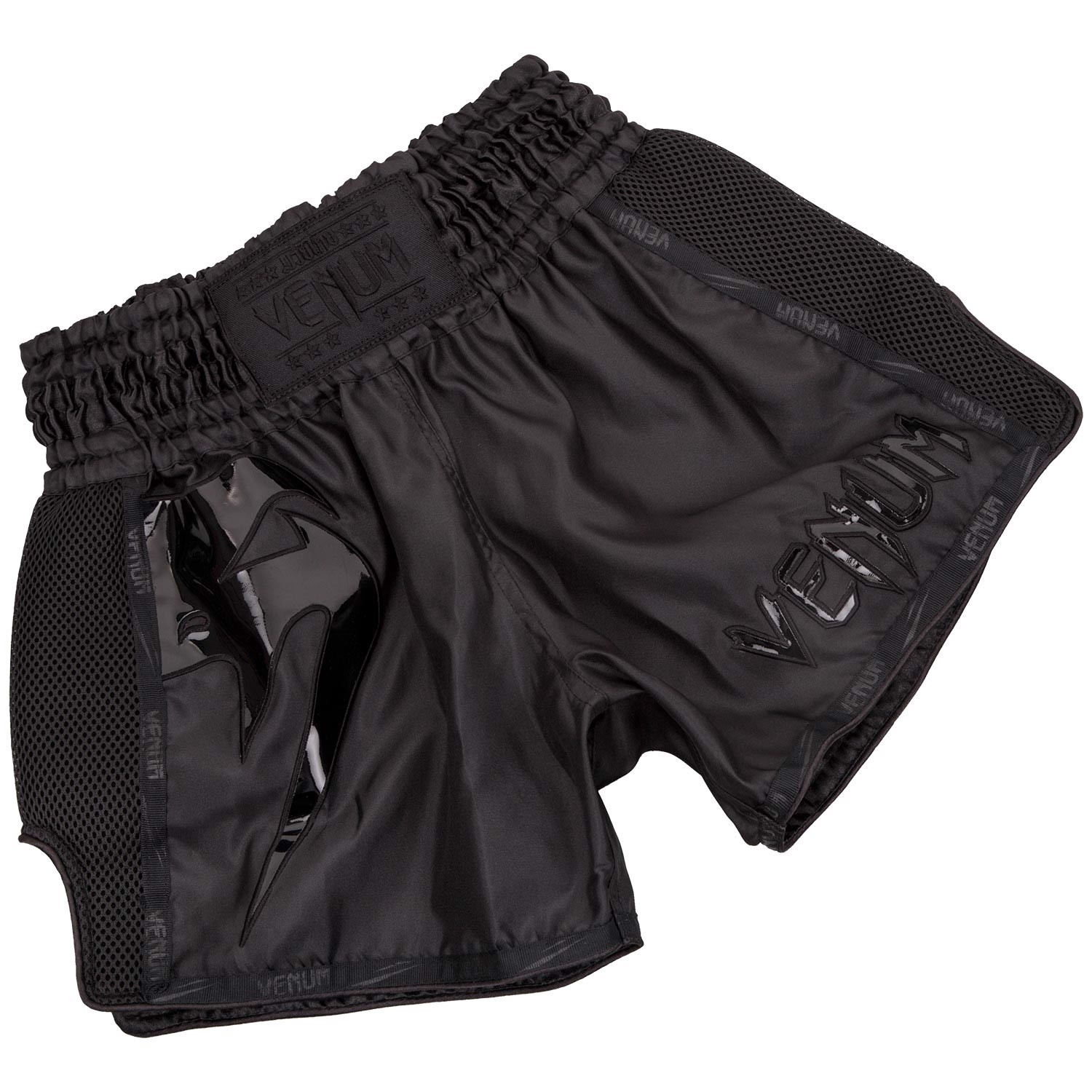 QUẦN VENUM GIANT MUAY THAI SHORTS - BLACK