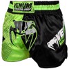 QUẦN VENUM TRAINING CAMP MUAY THAI SHORTS - BLACK/NEO YELLOW