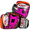 GĂNG TAY YOKKAO SICK MUAY THAI & BOXING GLOVES - ORANGE/PINK