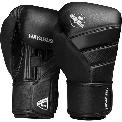 GĂNG TAY HAYABUSA T3 BOXING GLOVES - BLACK/BLACK