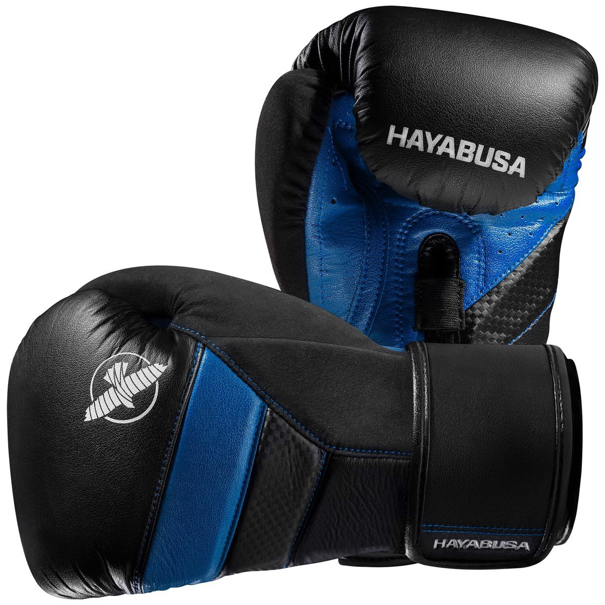 GĂNG TAY HAYABUSA T3 BOXING GLOVES - BLACK/BLUE