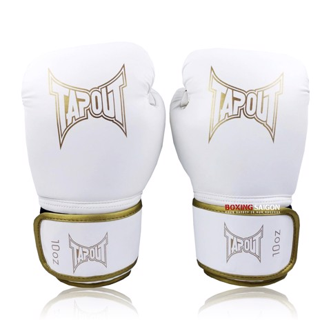Găng Tay Tapout Boxing Gloves - White