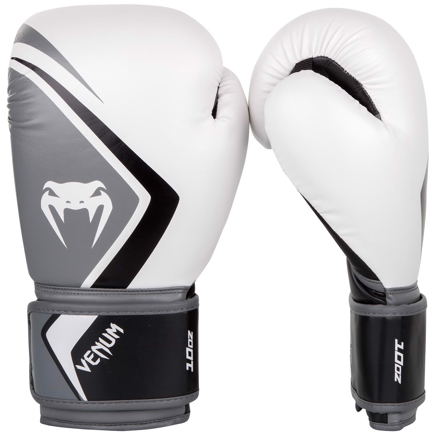 GĂNG TAY VENUM BOXING GLOVES CONTENDER 2.0 - WHITE/GREY-BLACK