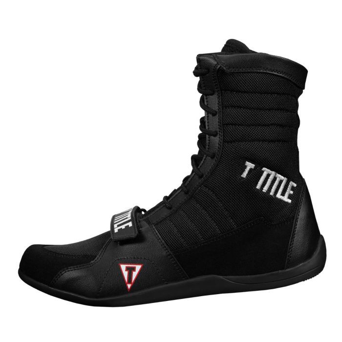 Giày Title Ring Freak Boxing Shoes - Black