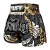 Quần Tuff Muay Thai Boxing Shorts Thai King Of Naga Black