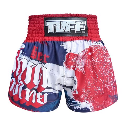 QUẦN TUFF MUAY THAI BOXING SHORTS NAVY BLUE FURIOUS BEAR