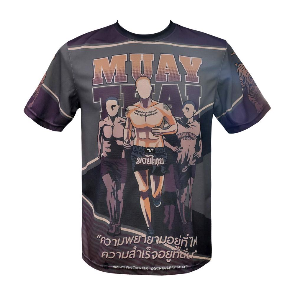 Áo Tuff Muay Thai Shirt Training Motivation Will Power