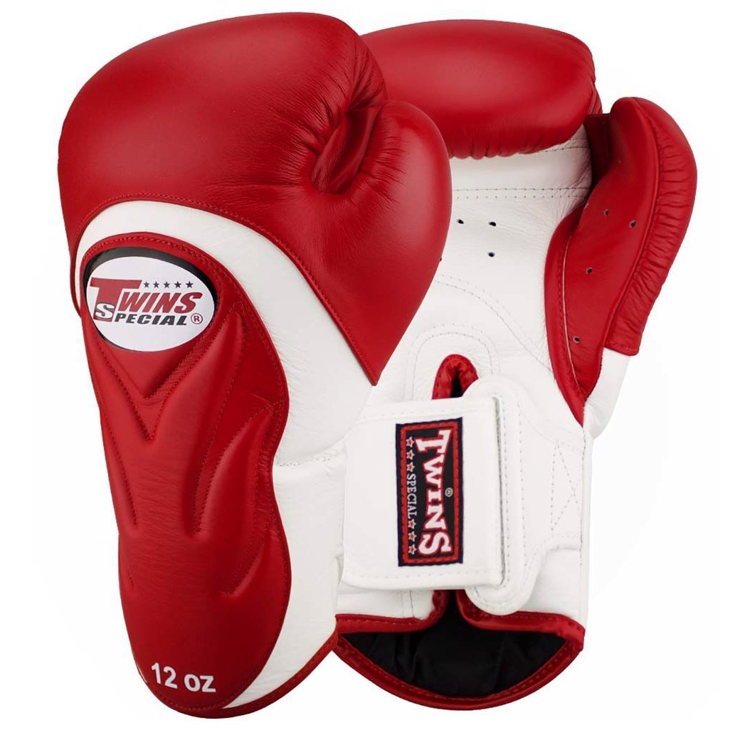 GĂNG TAY TWINS BGVL-6 SPECIAL NEW STYLES BOXING GLOVES - RED/WHITE