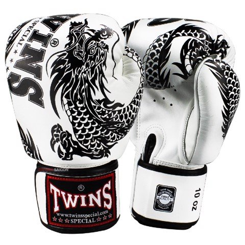 GĂNG TAY TWINS FBGV-49WH SPECIAL FANCY BOXING GLOVES DRAGON