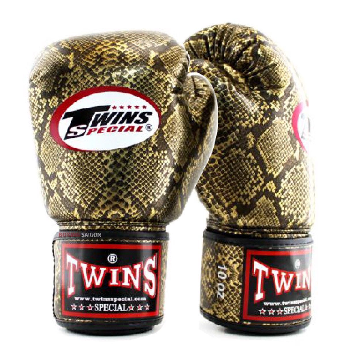 GĂNG TAY TWINS FBGVS3-CB FANCY BOXING GLOVES - GOLD