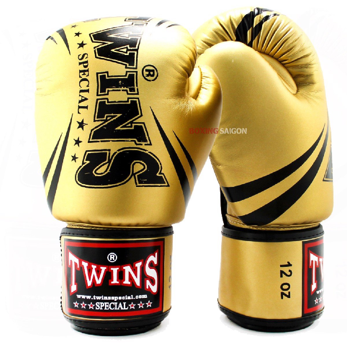 GĂNG TAY TWINS FBGVS3-TW6  FANCY BOXING GLOVES - GOLD