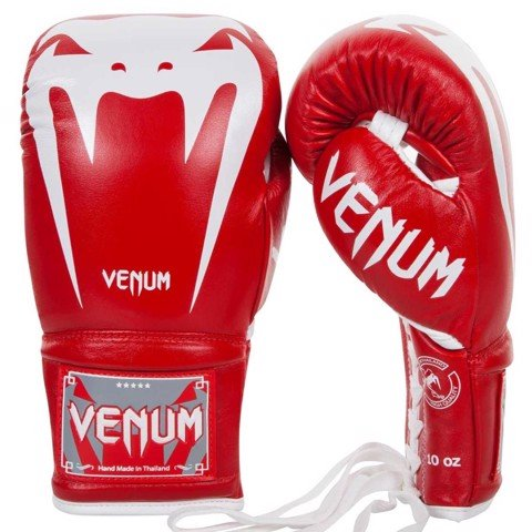 GĂNG TAY VENUM GIANT 3.0 BOXING GLOVES  WITH LACES - RED