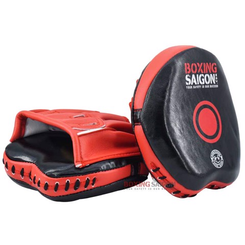 ĐÍCH ĐẤM TỐC ĐỘ BOXING SAIGON CURVED SPEED MITTS - RED
