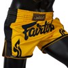 Quần Fairtex Bs1701 Yellow Slim Cut Muay Short
