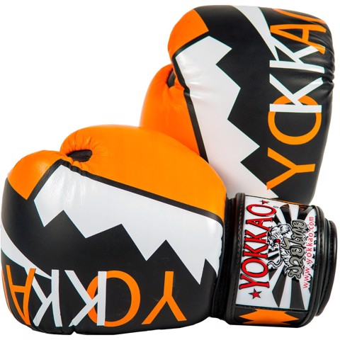 GĂNG TAY YOKKAO FYGLK-30 FROST BOXING GLOVES -  ORANGE