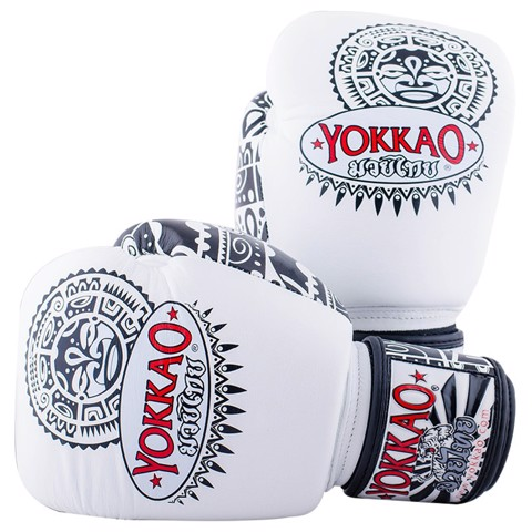 GĂNG TAY YOKKAO MAUI BOXING GLOVES - WHITE