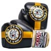 GĂNG TAY YOKKAO OFFICIAL FIGHT TEAM GOLD/BLACK MUAY THAI & BOXING GLOVES