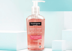 Sữa Rửa Mặt Neutrogena Visibly Clear Gel Nettoyant PampleMousse Rose