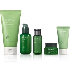 Bộ 5 Sản Phẩm Innisfree Green Tea Hydration Duo Set