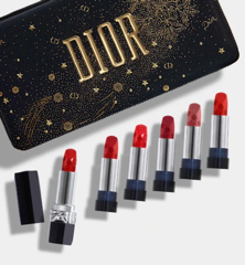 Giftset Son Rouge Dior Couture Collection -  Golden Nights Xmas 2020 ( Phiên Bản Đặc Biệt)