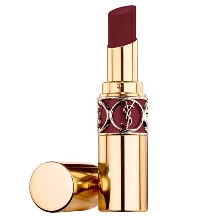 Son YSL Rouge Volupté Shine Màu 76 Red In The Dark Đỏ Nâu