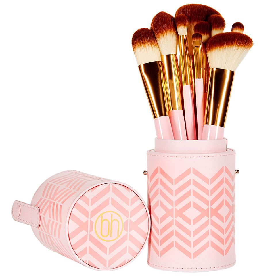 Bộ Cọ Trang Điểm Bh Cosmetics Pink Perfection - 10 Piece Brush Set
