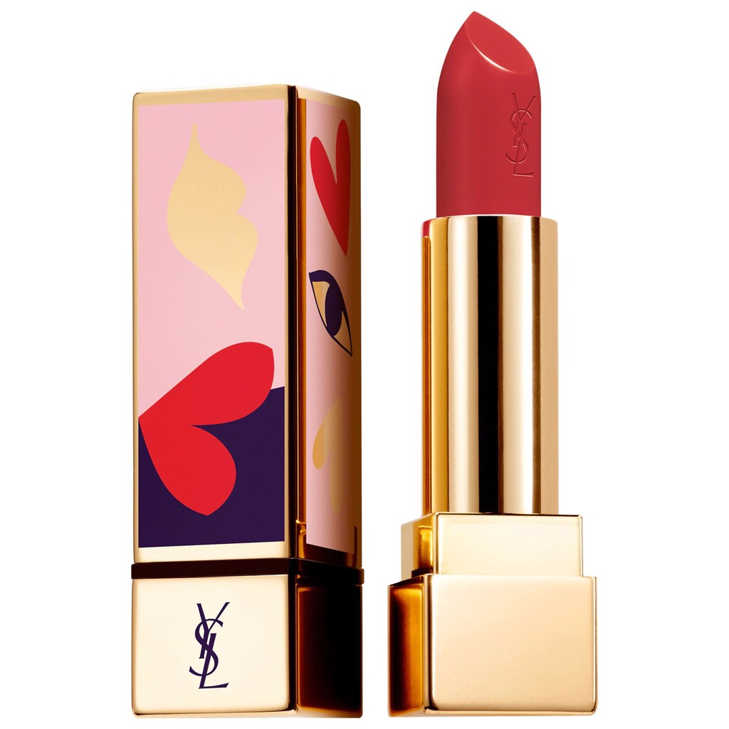 Son YSL I Love You So Pop Màu 114 Dial R.E.D Limited Edition