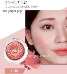 Má hồng CLINIQUE - Cheek Pop™ 3.5g
