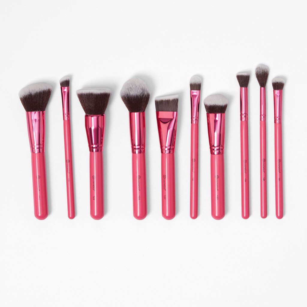 Bộ Cọ Bh Sculpt And Blend Fan Faves 10 Piece Brush Set