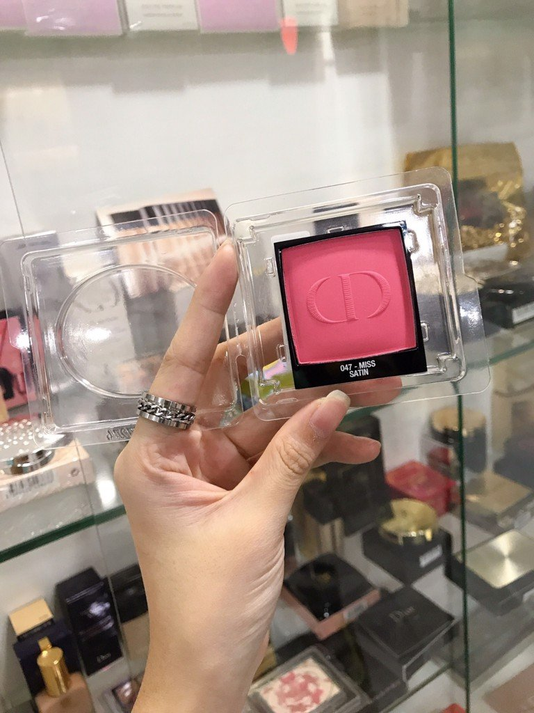 Phấn Má Hồng Dior Rouge Blush 047 Miss Tester Full Size