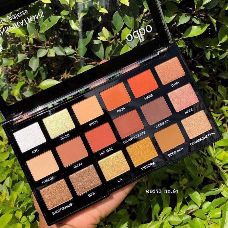 Phấn mắt 18 ô Odbo Eye Color Palette 18 Inspirations OD273