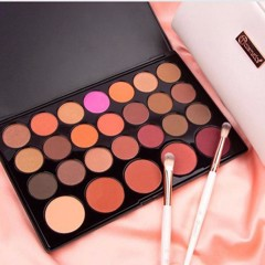 Bảng 21 Phấn Mắt 5 Má Hồng BH Cosmetics Blushed Neutrals 26 Color Eye-Shadow & Blush Palette