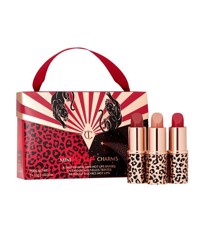 Set Son Charlotte Tilbury Mini Hot Lips 2 Charms ( 3 x 1.3g )