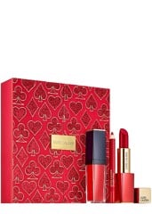 Set Quà Tặng Estee Lauder Look In A Box: Lady Luck Red Lips  Holiday Limited Edition