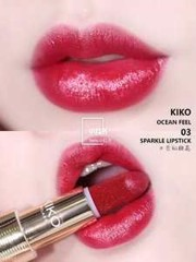 Son Kiko 03 Ocean Feel Sparkle Lipstick Limited